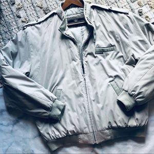 Members Only 80s Khaki Racer Jacket (LT)